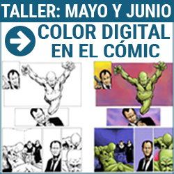 Taller digital: color en el cómic